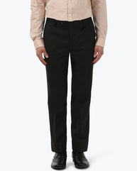 Park Avenue Dark Brown Super Slim Fit Trouser