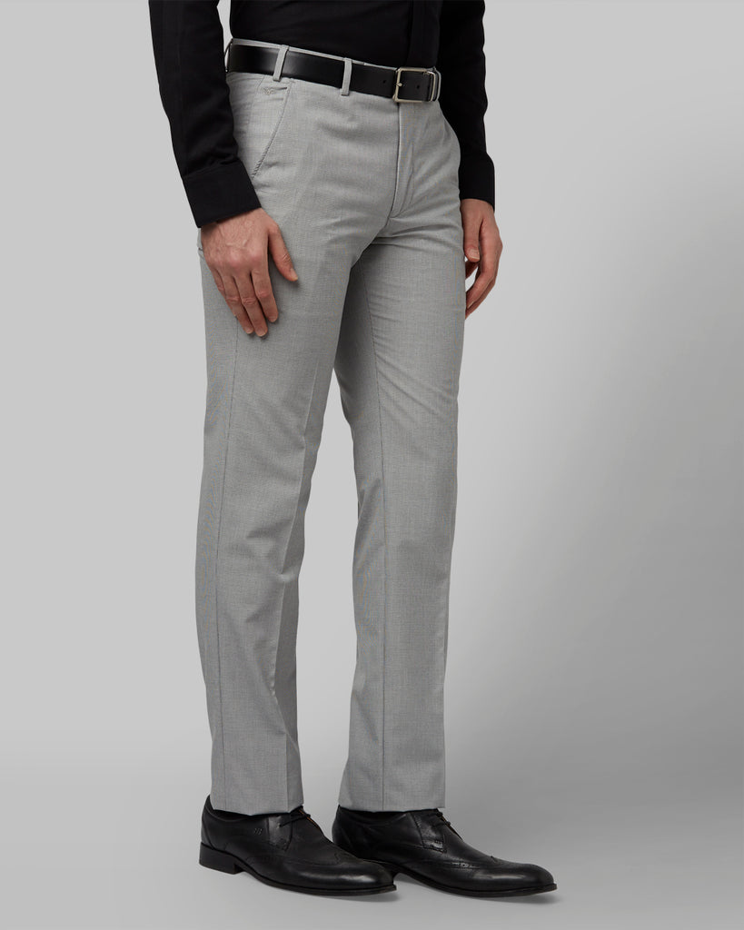 Park Avenue Medium Grey Slim Fit Trouser