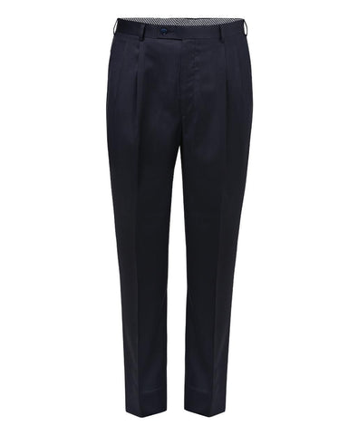 Park Avenue Dark Blue Regular Fit Trouser