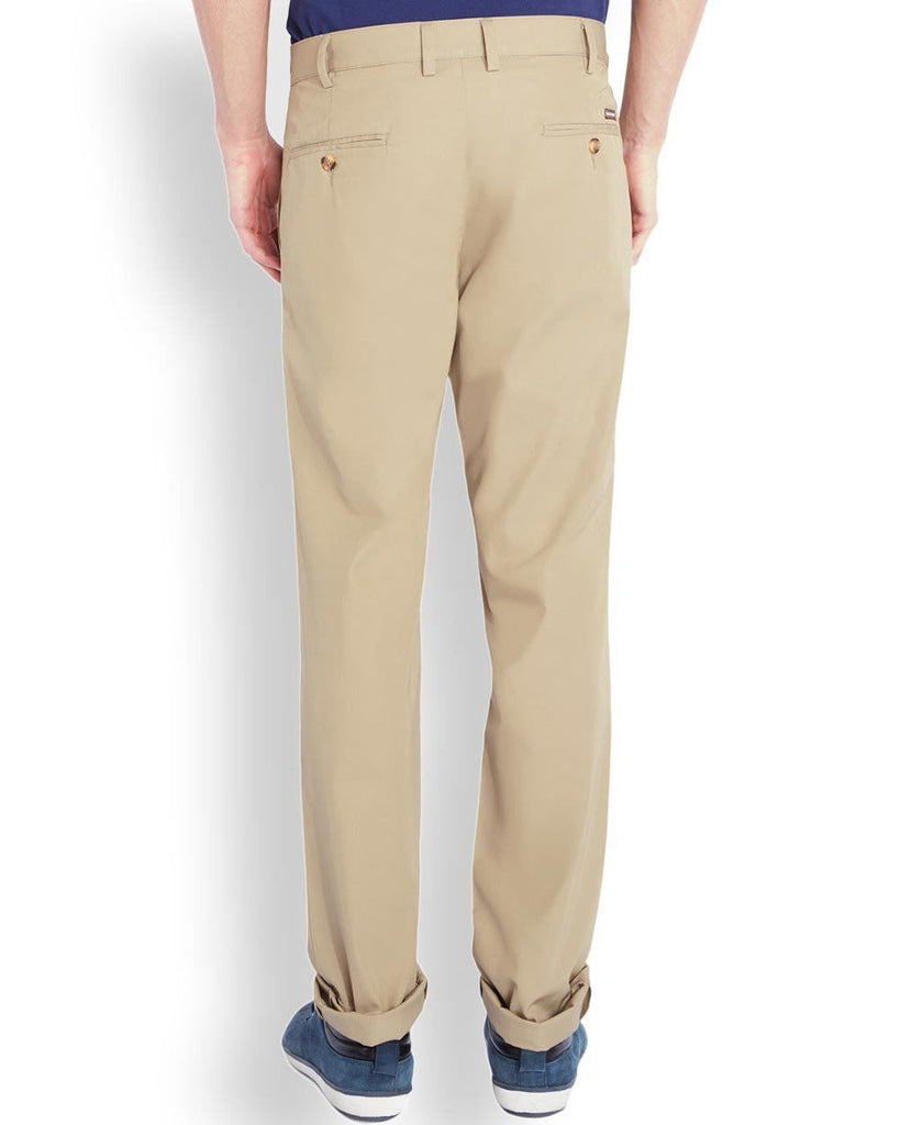 Park Avenue  Beige Super Slim Fit Trouser