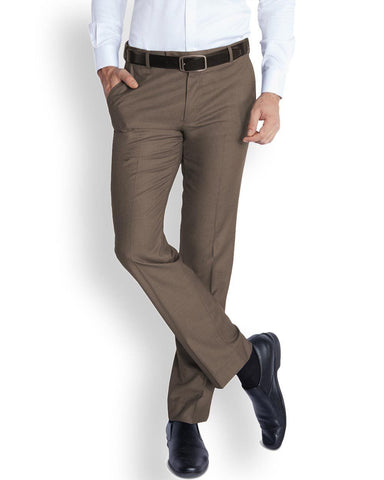 Park Avenue  Grey Smart Fit Trouser