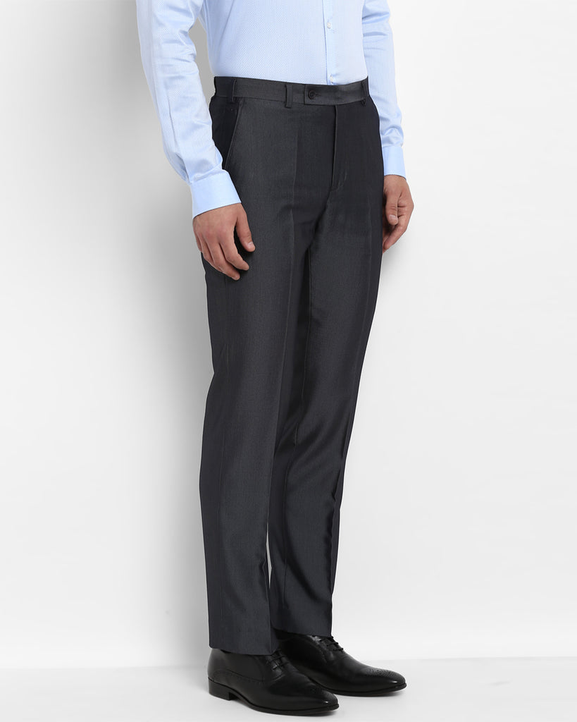 Park Avenue Dark Grey Smart Fit Trouser