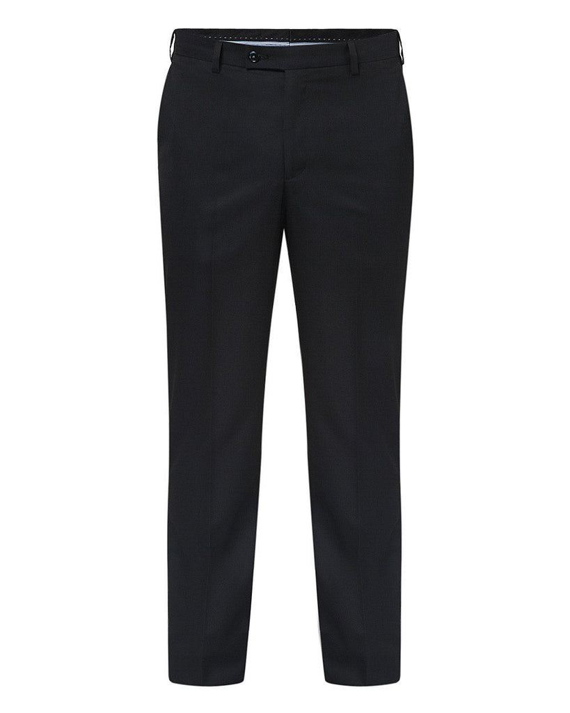 Park Avenue Black Slim Fit Trouser