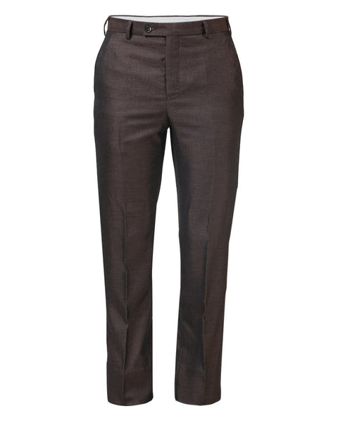 Park Avenue Dark Brown Slim Fit Trouser