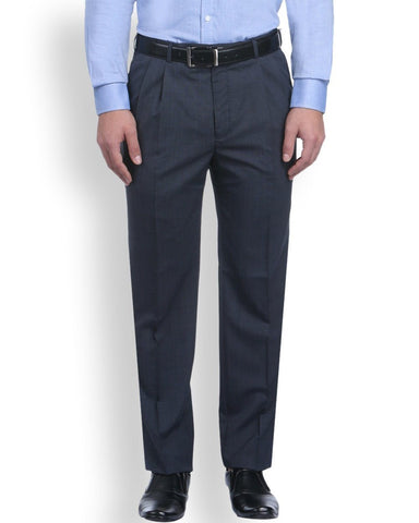 Park Avenue Blue Comfort Fit Trouser