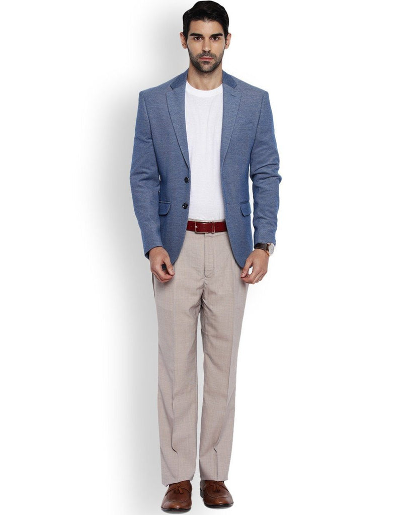 Park Avenue Beige Regular Fit Trouser