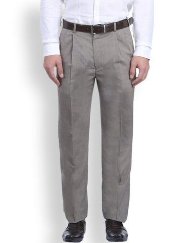 Park Avenue Khaki Comfort Fit Trouser