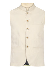 Park Avenue Fawn Slim Fit Waist Coat