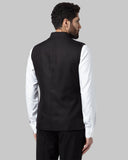 Park Avenue Grey Slim Fit Nehru Jacket