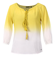 Park Avenue Woman Dark Yellow Regular Fit Top
