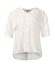 Park Avenue Woman White Regular Fit Tops