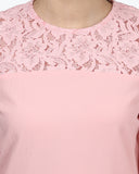 Park Avenue Woman Pink Regular Fit Top