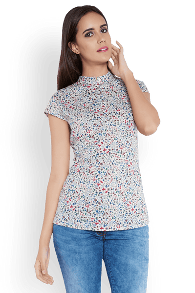 Park Avenue Woman Multicolor Regular Fit Top