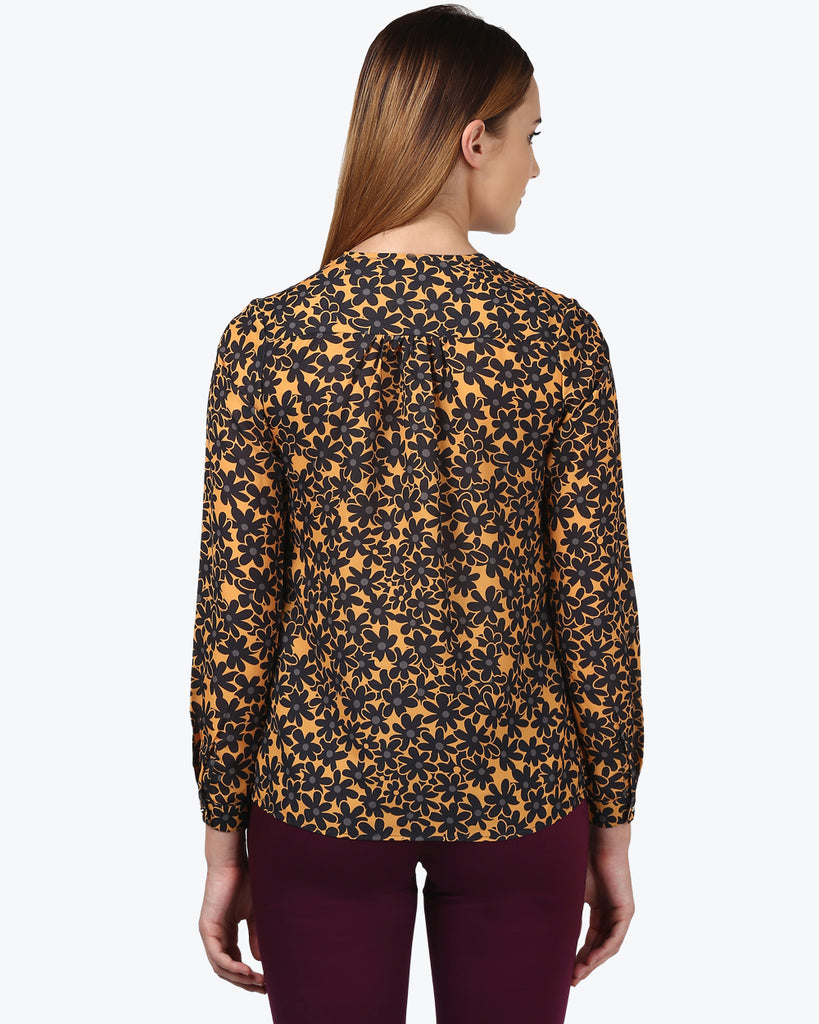 Park Avenue Woman Multicoloured Regular Fit Top
