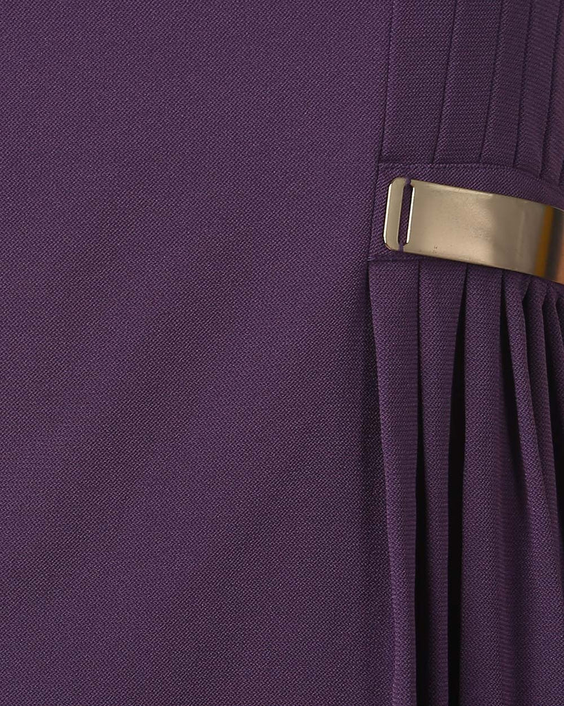 Park Avenue Woman Dark Violet Regular Fit Dress