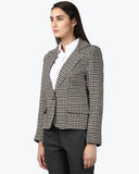 Park Avenue Brown Regular Fit Blazer