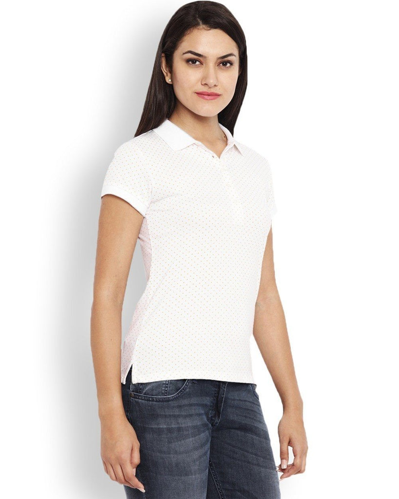 Park Avenue White Regular Fit Woman T-Shirt