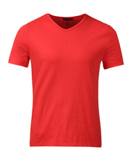 Park Avenue Woman Red Regular Fit T-Shirt