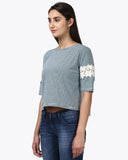 Park Avenue Woman Dark Green Regular Fit T-Shirt