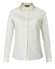 Park Avenue Woman Green Regualr Fit Shirt