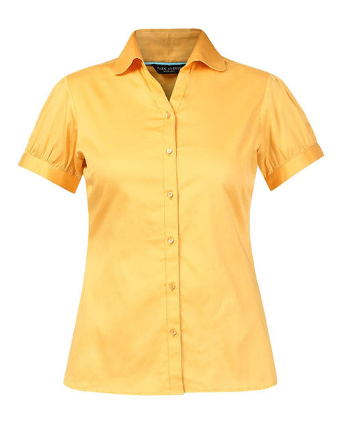 Park Avenue Woman Dark Yellow Regular Fit Shirt