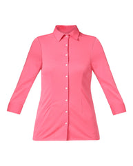 Park Avenue Woman Medium Red Regular Fit Shirt