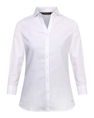 Park Avenue Woman White Regular Fit Shirt