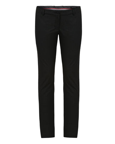 Park Avenue Woman Black Tapered Fit Trouser