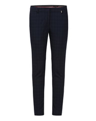 Park Avenue Woman Blue Tapered Trouser
