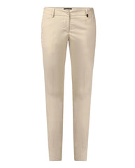 Park Avenue Woman Fawn Regular Fit Trouser