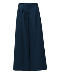 Park Avenue Woman Dark Blue Flared Fit Trouser