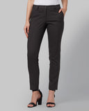 Park Avenue Woman Medium Grey Regular Fit Trouser