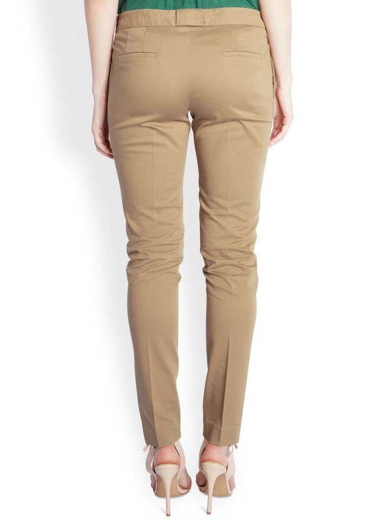 Park Avenue Woman Medium Fawn Tapered Fit Trouser