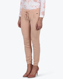 Park Avenue Woman Brown Regular Fit Trouser