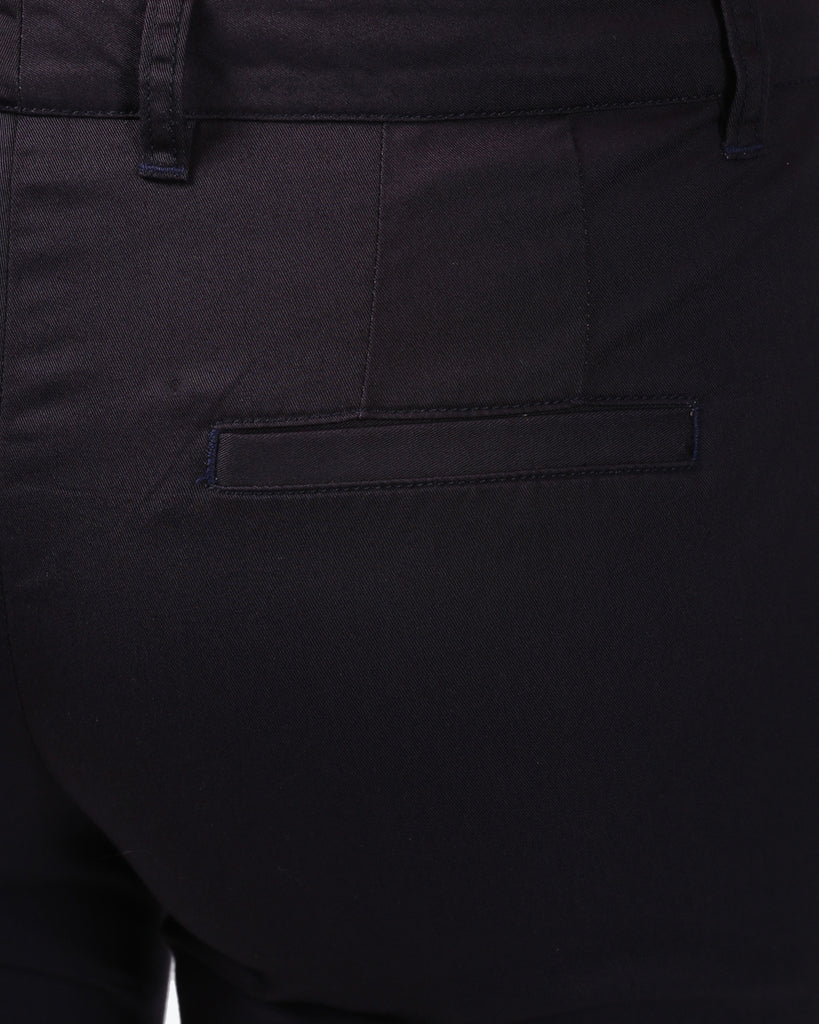 Park Avenue Woman Plum Tapered Fit Trouser