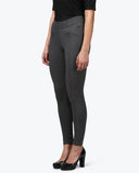 Park Avenue Woman Grey Regular Fit Trouser