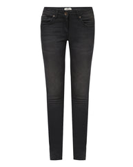 Park Avenue Woman Dark Grey Power Skinny Fit Jeans