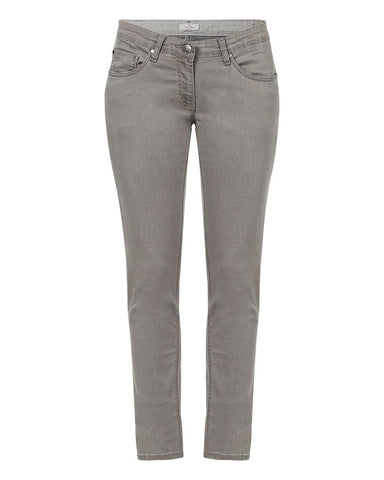Park Avenue Woman Dark Grey Skinny Fit Jeans