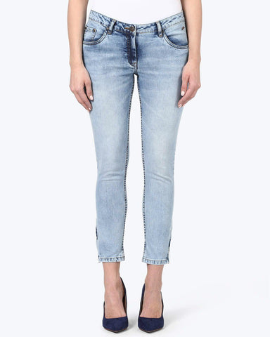 Park Avenue Woman Blue Super Slim Fit Jeans