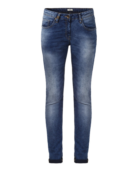 Park Avenue Woman Dark Blue Power Skinny Fit Jeans