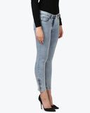 Park Avenue Woman Dark Blue Super Slim Fit Jeans