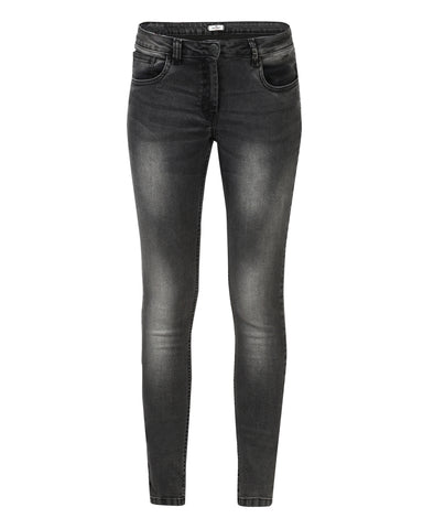 Park Avenue Woman Grey Power Skinny Fit Jeans