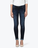 Park Avenue Woman Dark Blue Skinny Fit Jeans