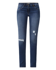 Park Avenue Woman Blue Ultra Skinny Fit Jeans