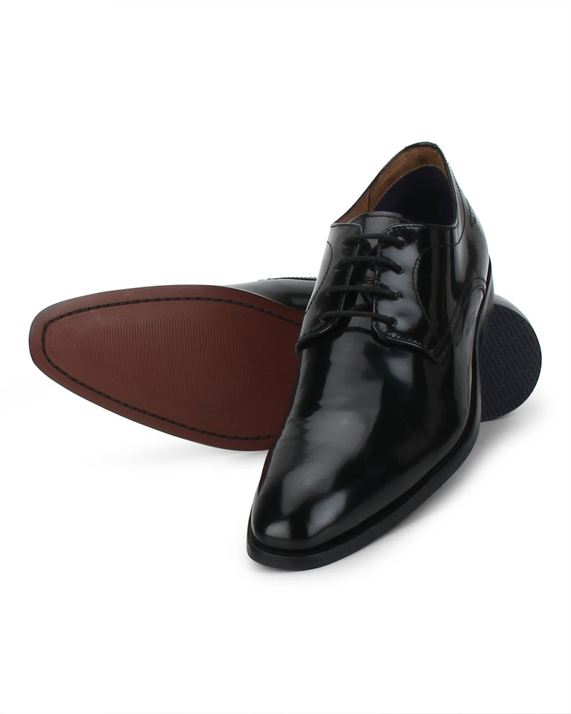 Park Avenue Black Formal Shoes