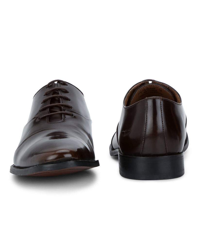 Park Avenue Dark Brown Formal Shoes