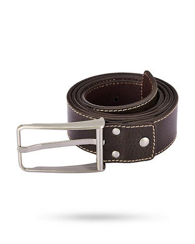 Park Avenue Brown Leather Belts