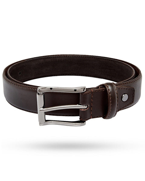 Park Avenue Dark Brown Leather Belt