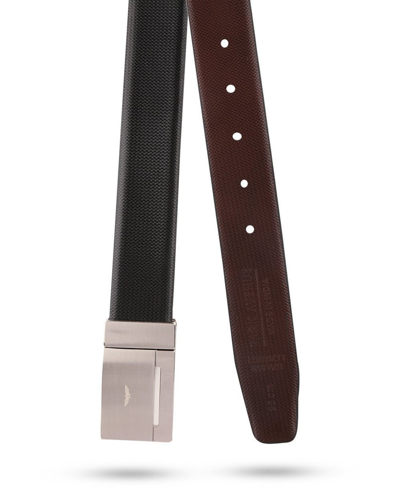 Park Avenue Yellow Leather Belt
