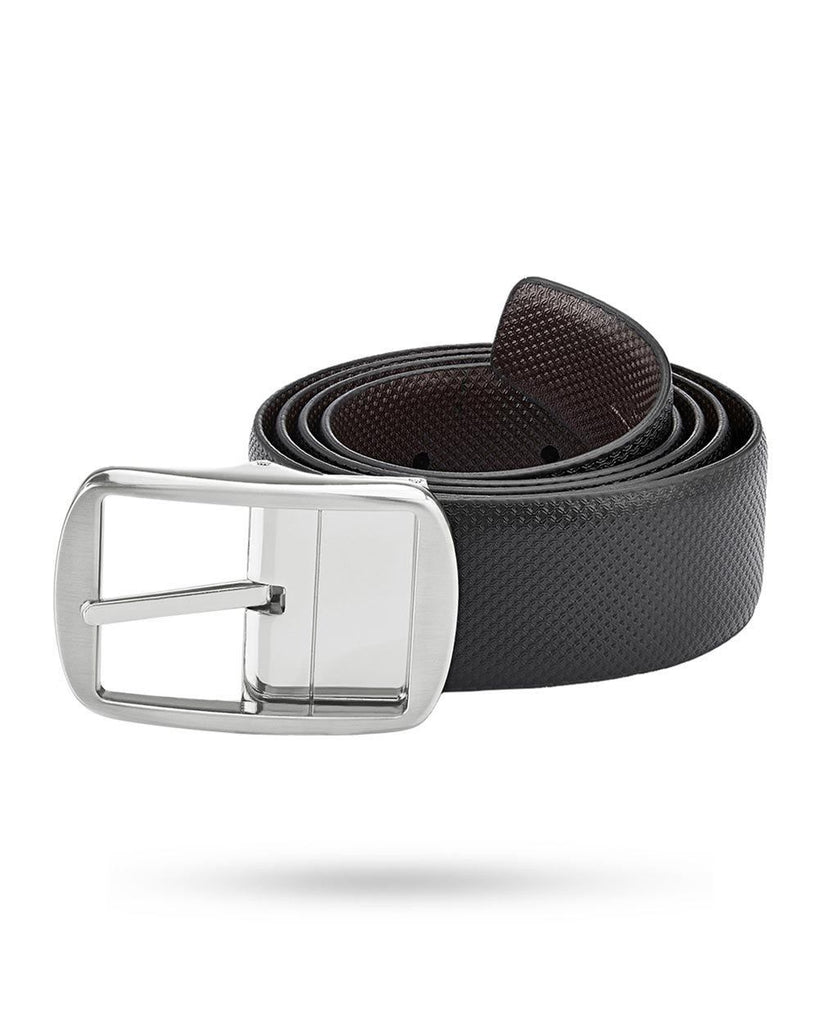 Park Avenue Black Leather Belt
